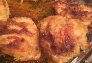 Buttery Spiced Gluten-Free Breaded Chicken