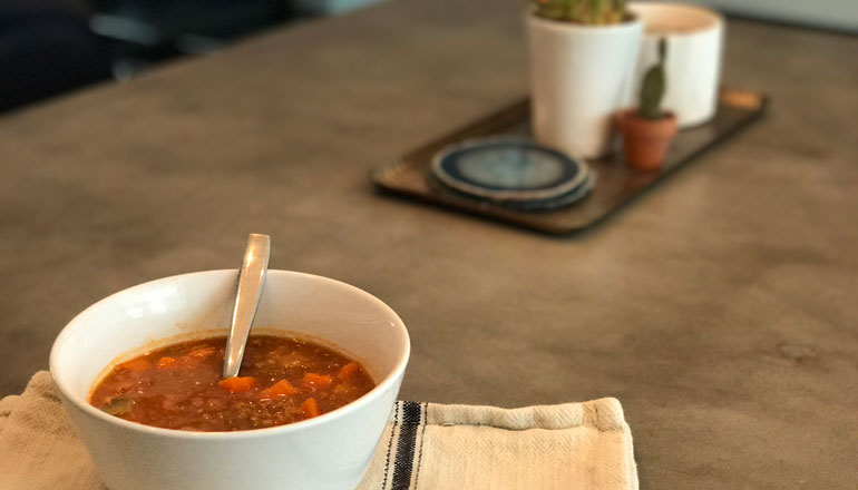 This Easy-To-Make Veggie-Lentil Soup Will Rock Your World