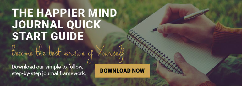 Happier Mind Journal CTA